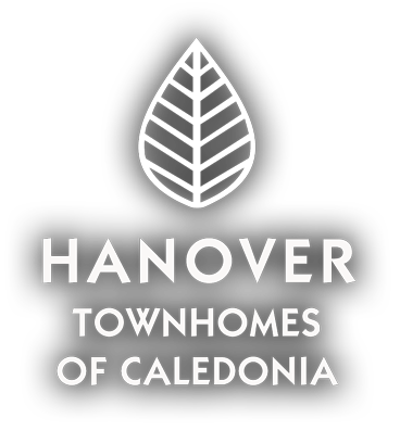 The Hanover Townhomes of Caledonia Logo