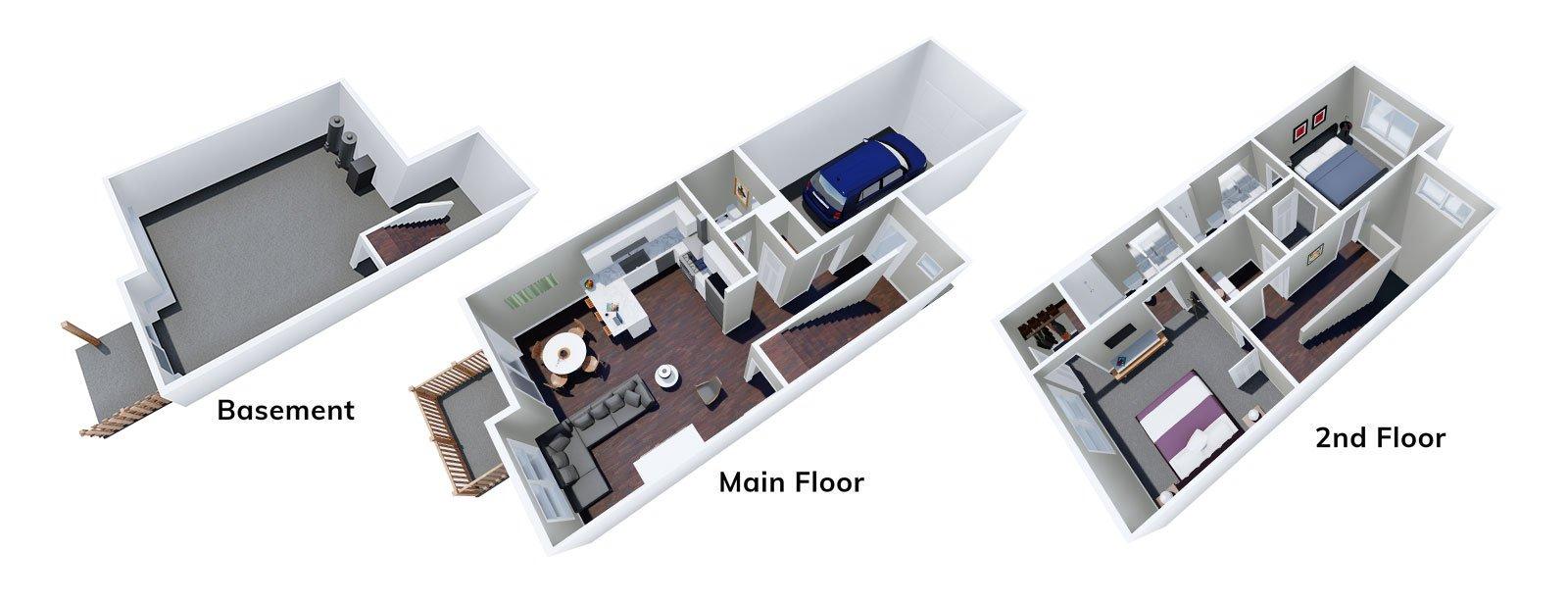 Bluebell Floor Plan 3D