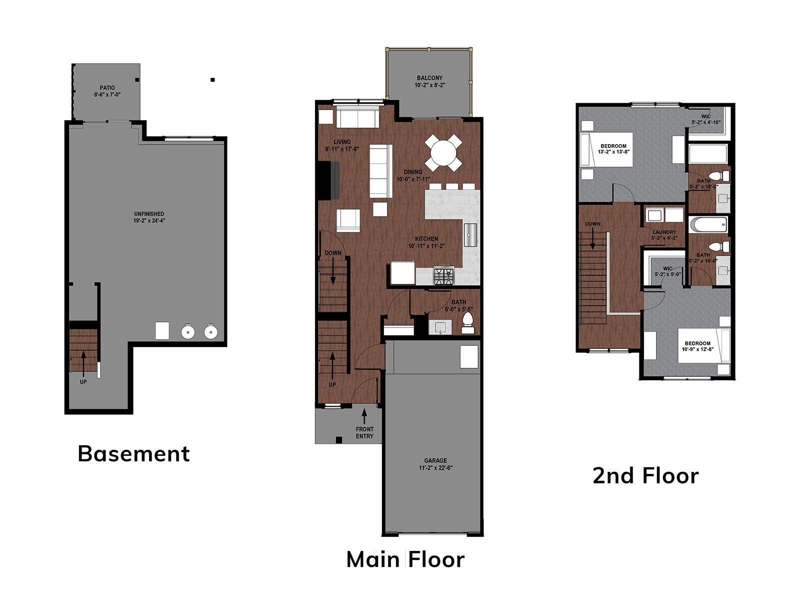 Bluebell Floor Plan