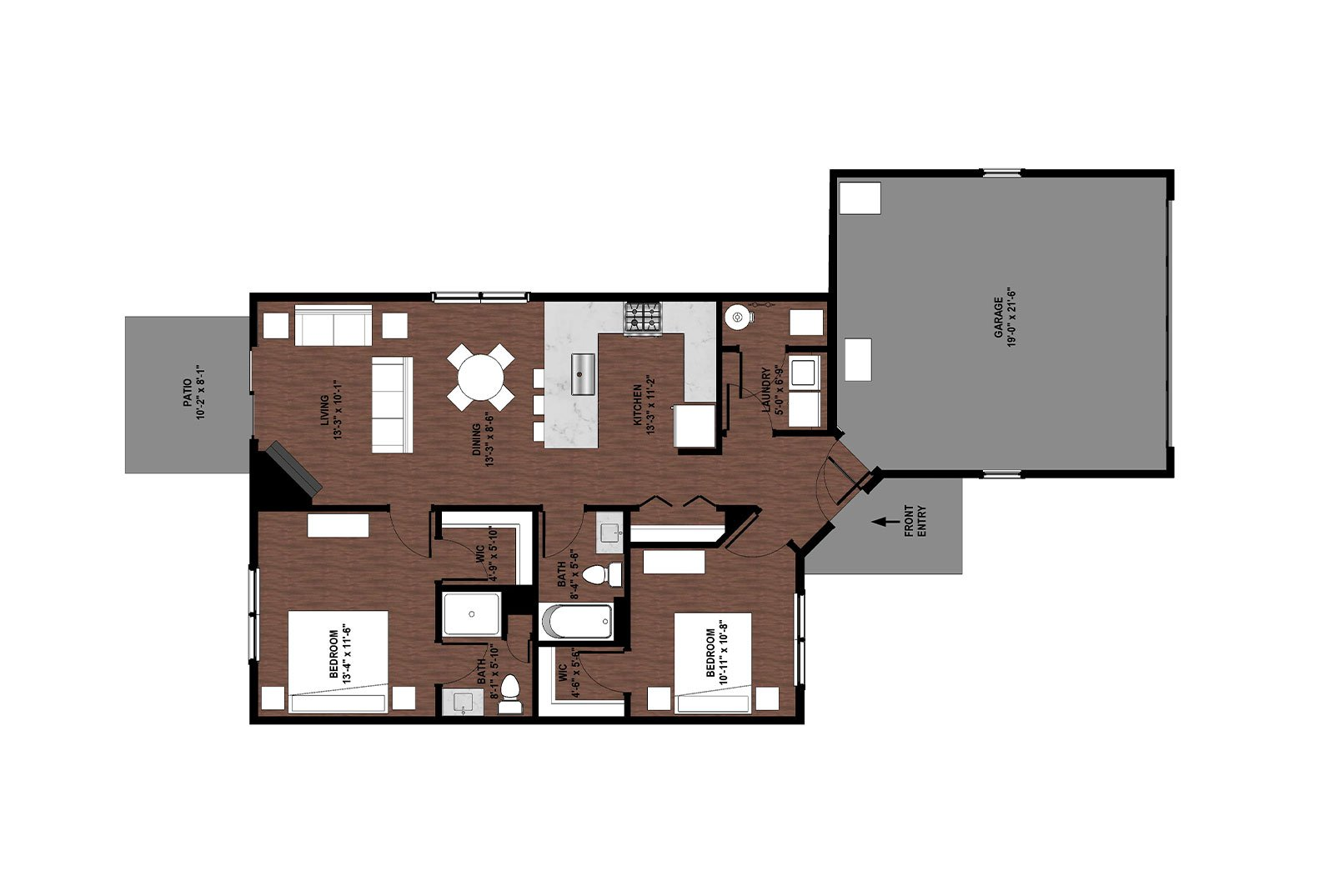 Geranium Floor Plan