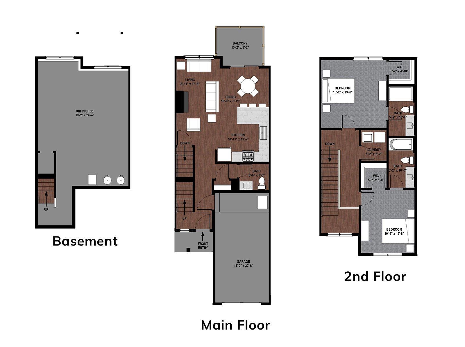 Marigold Floor Plan